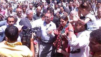یمن رقص خانم وزیر کار دستش داد