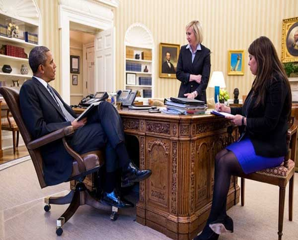 0001 یک کرمانی منشی رئیس جمهور آمریکا