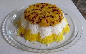 10287 300x190 طرز تهیه برنج قالبی با سس مایونز