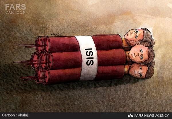 29 کاریکاتور ؛ داعش بدون شرح