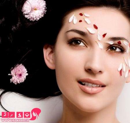 www.takroj.ir 300012592 پر شدن صورت لاغر با آبرسانی پوست در خانه