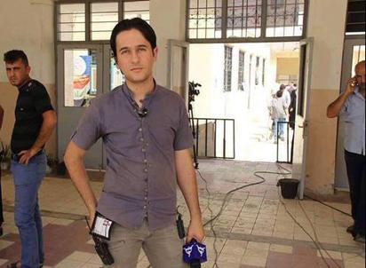 index اعدام خبرنگار جوان از سوی داعش + عکس