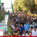 IMG 0678  150x150 عظمت حضور مردم شهرستان انار کرمان در مراسم تشییع شهدای غواص و گمنام
