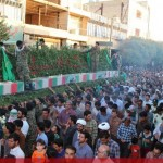 IMG 0809  150x150 عظمت حضور مردم شهرستان انار کرمان در مراسم تشییع شهدای غواص و گمنام