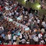 IMG 0863  150x150 عظمت حضور مردم شهرستان انار کرمان در مراسم تشییع شهدای غواص و گمنام