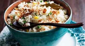 برنج برنج را معطر درست کنید