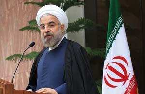 حسن روحانی1 روحانی: برای امنیت سوریه، عراق و یمن حاضرم با هرکسی حرف بزنم