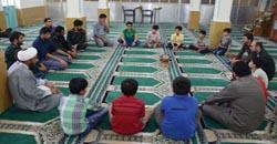 مسجد فضیلت آموختن و آموزش دادن در مسجد
