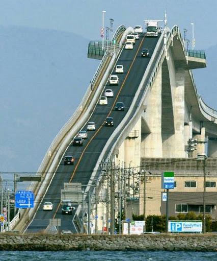 پل در ژاپن یک پل زیبا در ژاپن