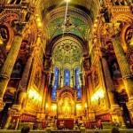 کلیسا در پاریس فرانسه 150x150 ۹ عکس بسیار تماشایی در یک گالری