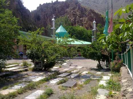 040720147181 قریه امامزاده حسن در جاده چالوس