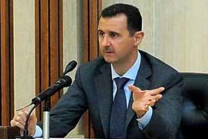 بشار اسد آمادگی بشار اسد برای شرکت در انتخابات ریاست جمهوری سوریه