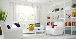 دکوراسیون سفید منزل نحوه تمیزکردن لوازم سفید رنگ منزل