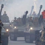 3 150x150 تصاویر رژه نظامی کره شمالی