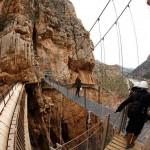 caminito del rey 150x150 خطرناکترین و زیباترین مسیر پیادهرو جهان
