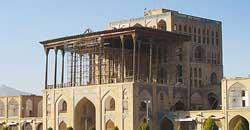 آثار تاریخی عالیقاپو بناهای تاریخی اصفهان، اسیر شدند
