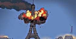 ایفل حادثه پاریس به روایت ...