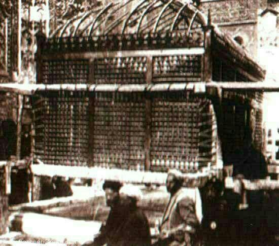 حرم امام رضا قدیمیترین عکس از حرم امام رضا علیهالسلام