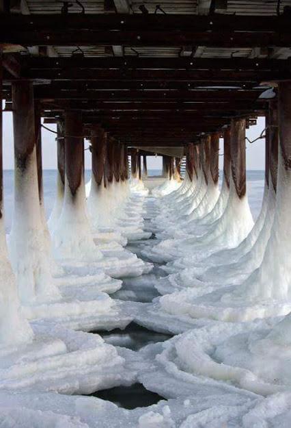 FB IMG 1448681901620 شنا در دریایی از یخ